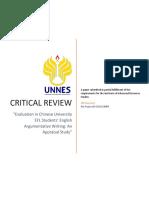 Critical Review - Nia Pujiawati