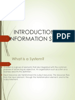01- Introduction to Information Systems