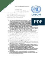 UN Warns of Looming Drought-related Humanitarian Crisis in Somalia