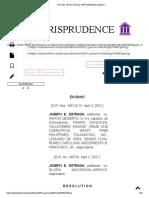 G.R. Nos. 146710-15 &Amp; 146738 (Resolution) _ Estrada V