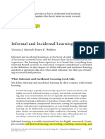 Informal Worplace Learning_Marsick