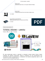 TUTORIAL ARDUINO + LABVIEW