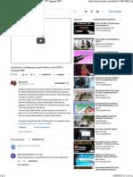 Instalación y Configuracion Para Antena y Lnb CANTV Hispasat 30W - YouTube