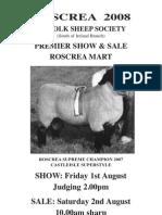 Roscrea Suffolk Sale Catalogue