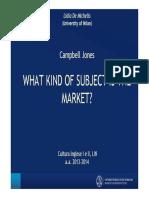 What Kind of Subject is the Market [Modalità Compatibilità]