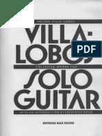Villa-lobos Solo Guitar