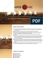 Mars One Projections 2017