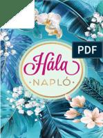 Hálanapló 2019 - Édesvíz Kiadó