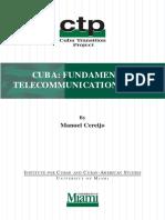 Cuba Fundamental Telecommunications Plan