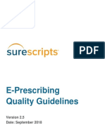 e Prescribing Quality Guidelines