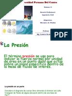 SEGUNDA CLASE Medicion de La Presion,Absoluta,Manometrica y Atmosferica