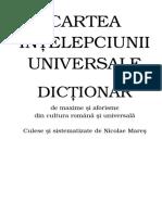 Cartea Intelepciunii Universale Dictionar De Maxime Si Aforisme.pdf