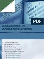 Deadlocks in Operating System
