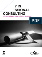 L7 in Professional Consulting Syllabus v05