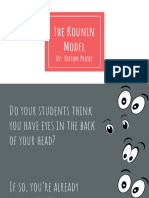 the kounin model research powerpoint