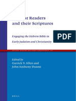 [Ancient Judaism and Early Christianity 107] Garrick V. Allen, John Anthony Dunne - Ancient Readers and their Scriptures_ Engaging the Hebrew Bible in Early Judaism and Christianity (2019, Brill) (1).pdf