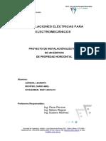 Proyecto de instalación eléctrica de un edificio de PH.pdf