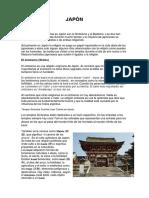 Japón Religión Historia