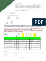 2ª Lista Exercícios Pcp 2014-1 Gabarito