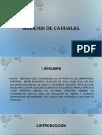 MEDICION DE CAUDALES.pptx