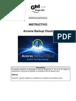 Procedimiento-Portal Acronis e Instalacion de Agentes
