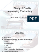 Quality Engineer (Rekayasa Kualitas) by Aulia Ishak
