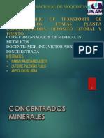 Manejo y Transporte-de-Concentrados GRUPO 2.ppt