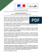 Edital Escola de Verão França 2019