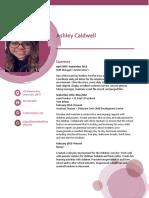 ashleys resume