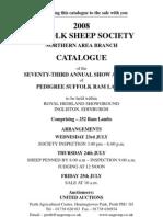 Edinburgh Suffolk Sheep Catalogue
