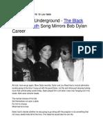 The Velvet Underground the Black Angel's Death Song Mirrors Bob Dylan Career