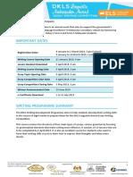 DKLS 2019 Info Packet