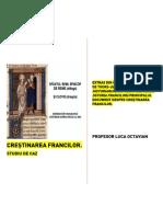 Creștinarea Francilor. Studiu de Caz.