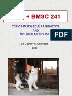 BIOL 241-09 Lecture 01