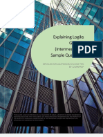 Logiks General Intermediate Test Explanations