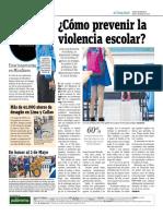 ¿Cómo Prevenir La Violencia Escolar?
