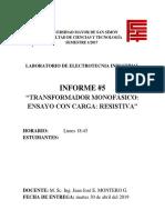 Informe de Laboratorio 5, Electrotecnia Industriall.docx