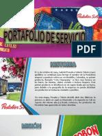 Portafolio de Servicio Postobon Yohana