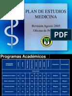 Plan de Estudios Medicina 2005 (1)