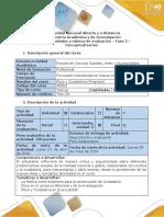 Guía de Actividades y Rúbrica de Evaluación - Fase 3 - Conceptualización