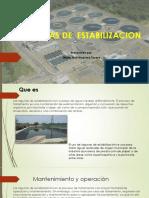 Laguanas de Estabilizacion
