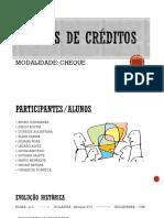 Títulos de Créditos