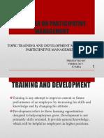 Seminar on Participative Management