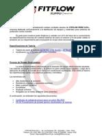 Carta de Aprobación de Tuberías - V.1