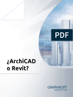 Arc PDF Archicad o Revit