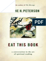 Eat This Book_ a Conversation in the Art o - Eugene H. Peterson