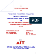 CONSUMER PERCEPTION EVALUATION MOTHER DAIRY FIRM_RESEARCH_2012 UPDATED.doc