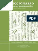 Diccionario de Escritores Merideños PDF.pdf