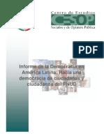 PB6007 Informe de La Democracia en America Latina..Hacia Una