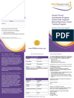 PARfessionals Veterans Scholarship Application (2013)